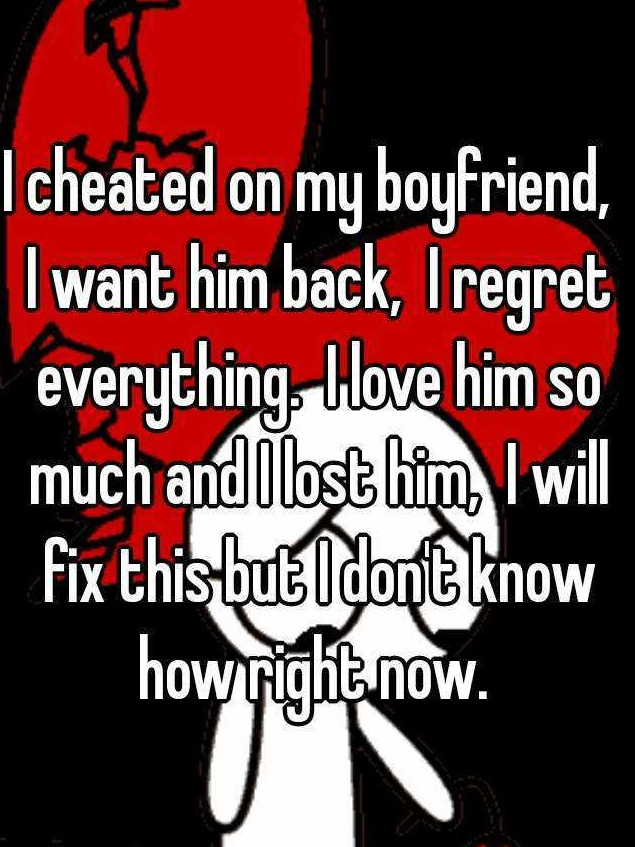 He Left me For Cheating on Him, Now Get Him Back
